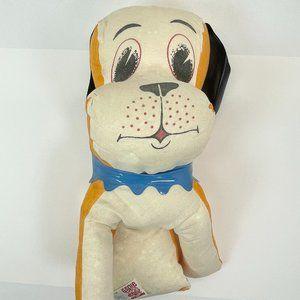 "VINTAGE Genie Toys 12"" Plush Dog Stuffed Animal"